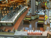 Retail store concrete floors