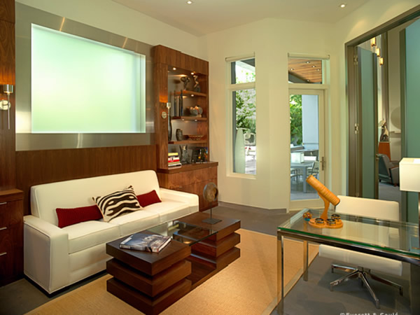 Family room floor pictures photos and ideas for living - Concrete floor living room ...