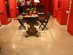 Kitchen concrete floors