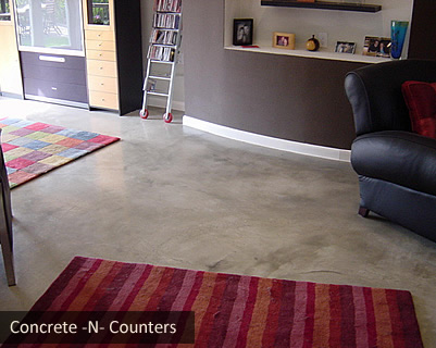grey stained concrete floors. Light grey acid stained floor Maroon residential concrete  Concrete Floors